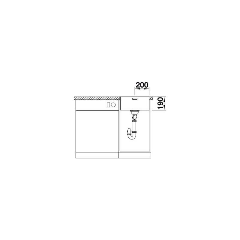 korito andano 500 if trgovina z belo tehniko. Black Bedroom Furniture Sets. Home Design Ideas